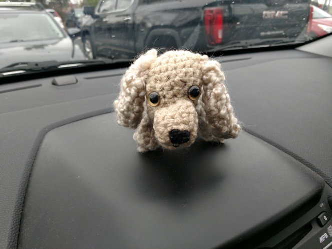 104 Cocker Spaniel dog pattern by LittleOwlsHut | Crochet dog ... | 497x663